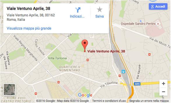 C4B Contatti - Google Maps